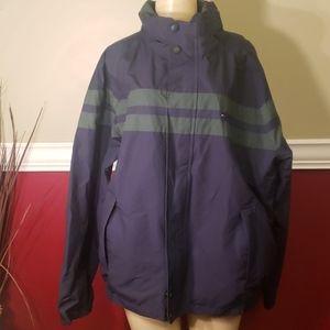 Mens tommy Hilfiger jacket vintage large